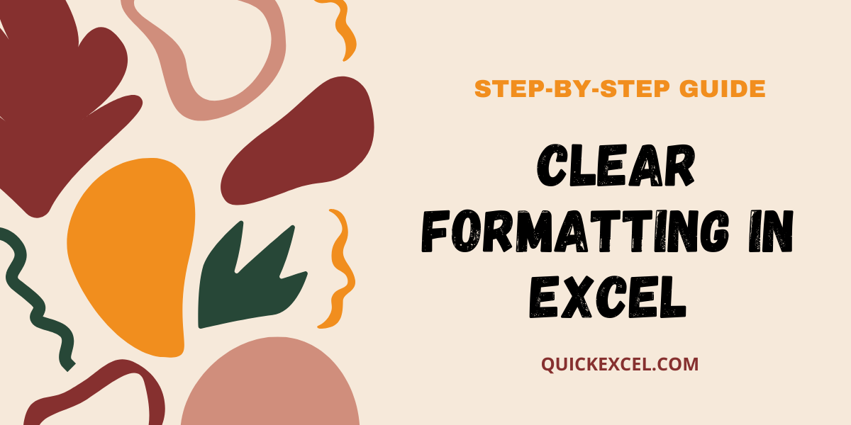 clear formats in microsoft