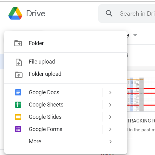 Google Drive File Upload
