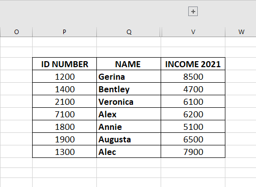Grouped Columns in Database