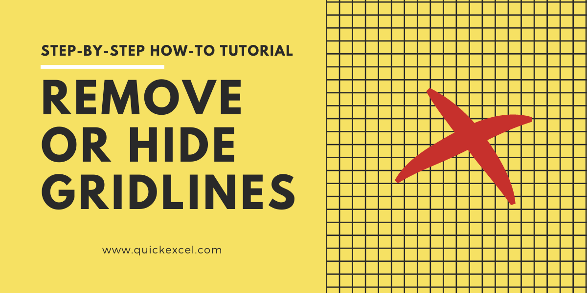 hide or remove gridlines