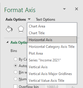 Axis Options