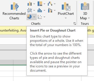 Pie or Doughnut Chart Icon