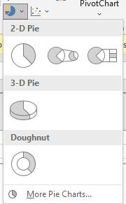 Pie Chart Options