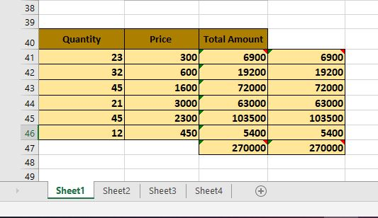 Sheet Name Display delete a sheet in Microsoft Excel