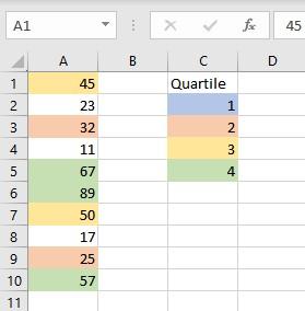 2nd quartile 1