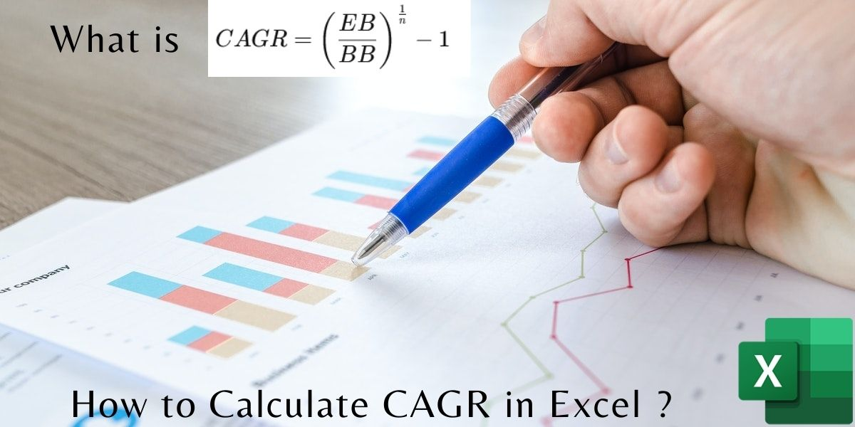 How to Calculate CAGR in Excel
