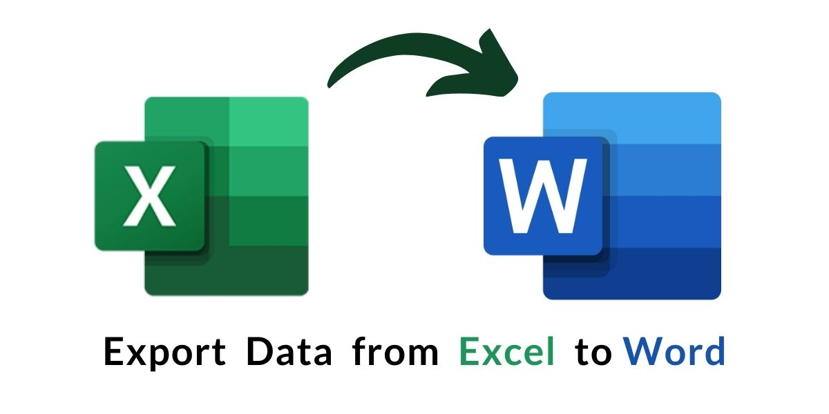 export data from excel to word
