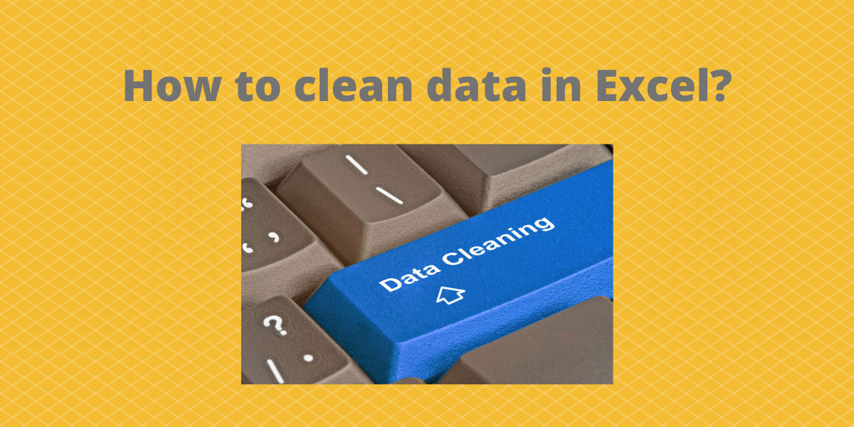 How to clean data in