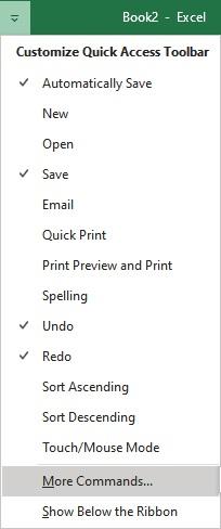 customize qat options