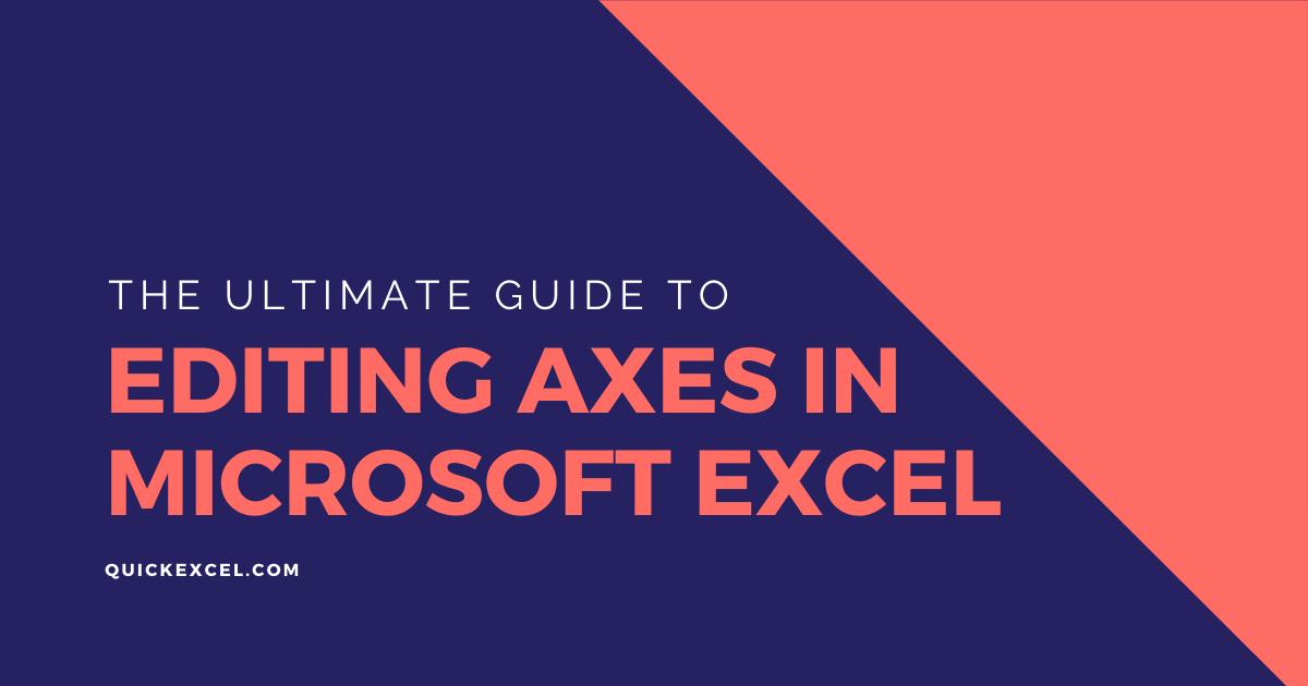 editing axes in Microsoft