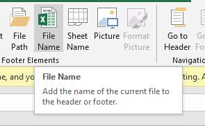 File Name Button