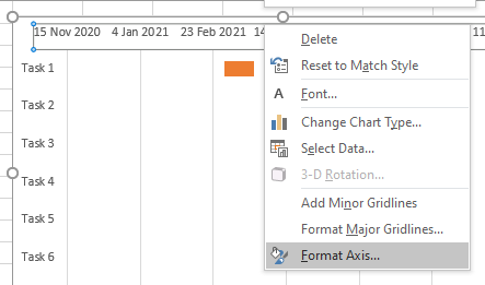 format axis dates