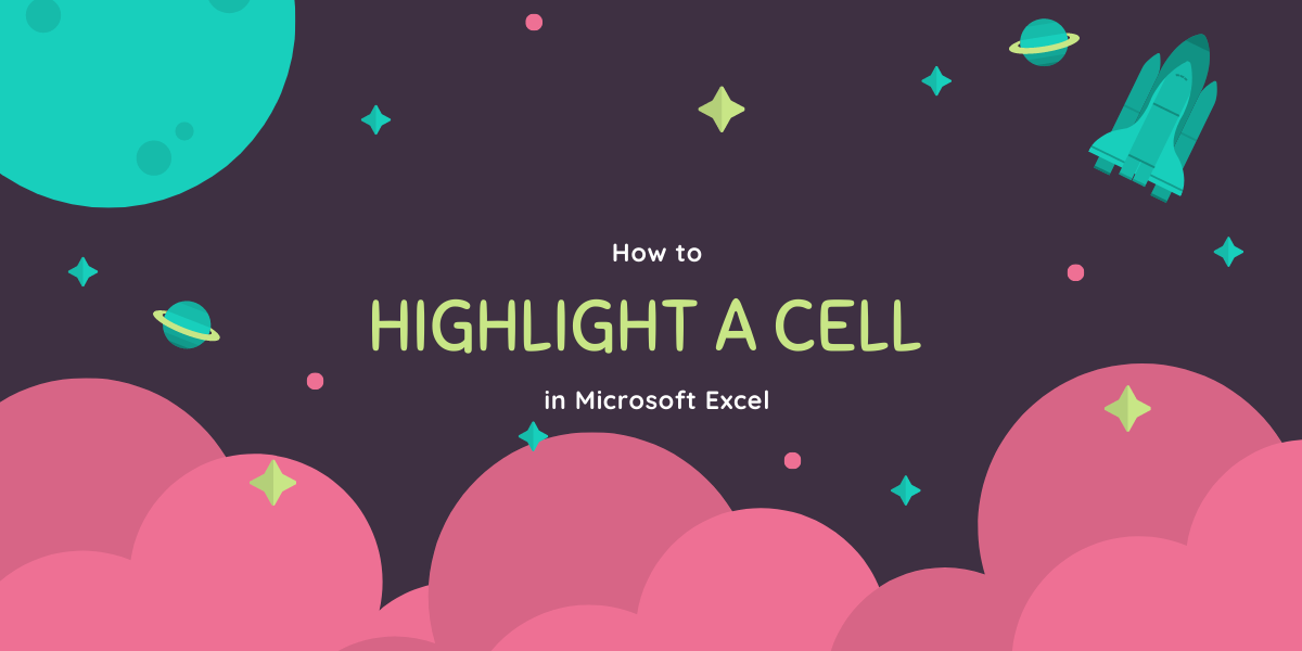 highlight a cell in
