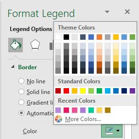 Legend Color
