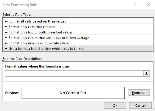 new rule dialog box 4