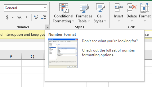 Number Format Icon Add Bullet Points in Excel