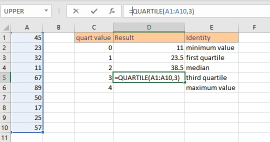 quartile quart 3