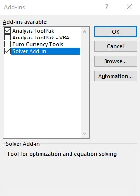 solver add in 1