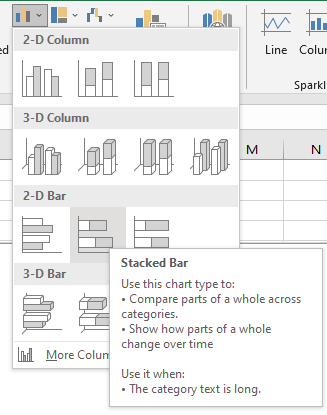 stacked bar
