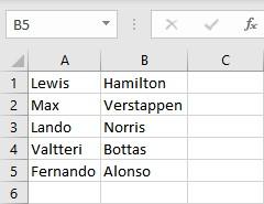 text to columns formatting