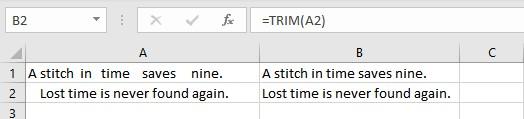 trim entire list