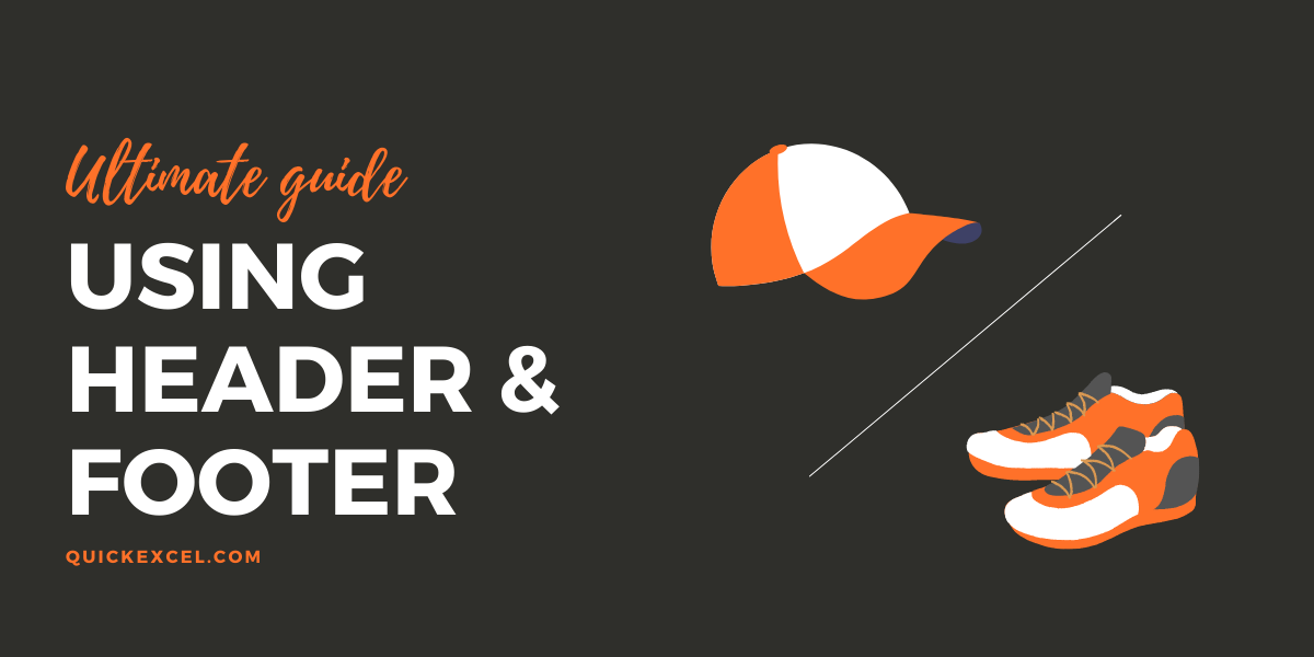 using header and footer in