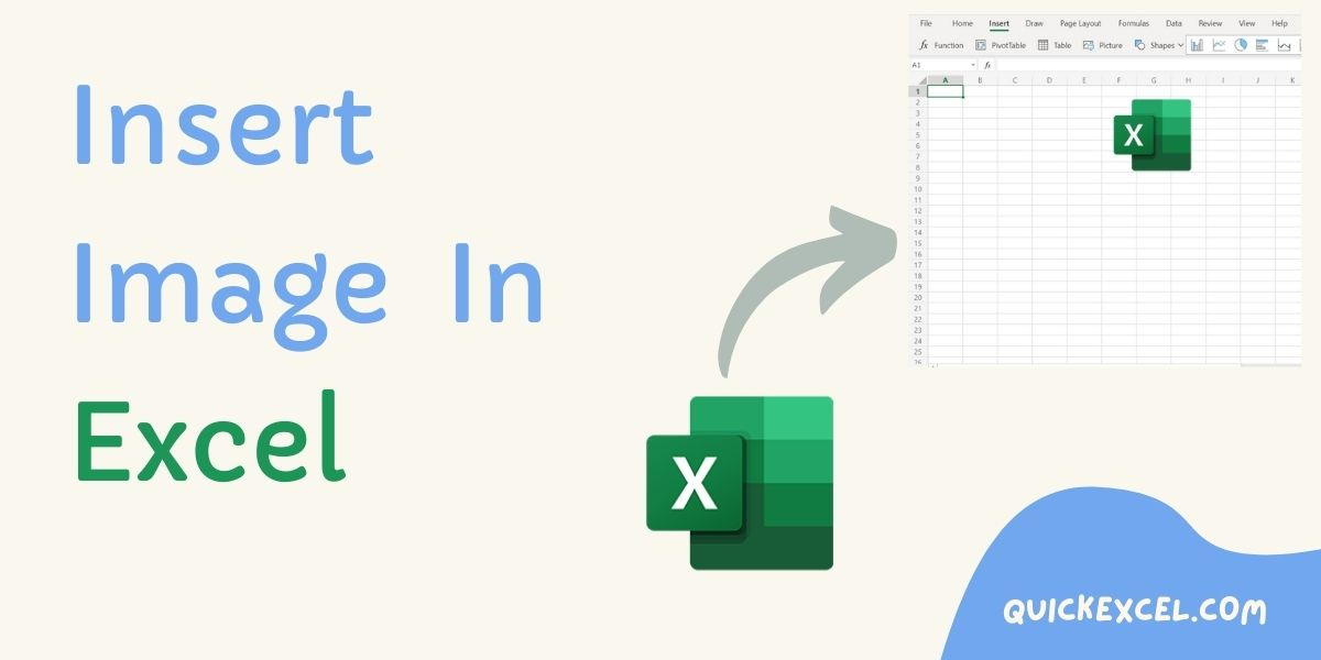 How to Insert Image in Excel