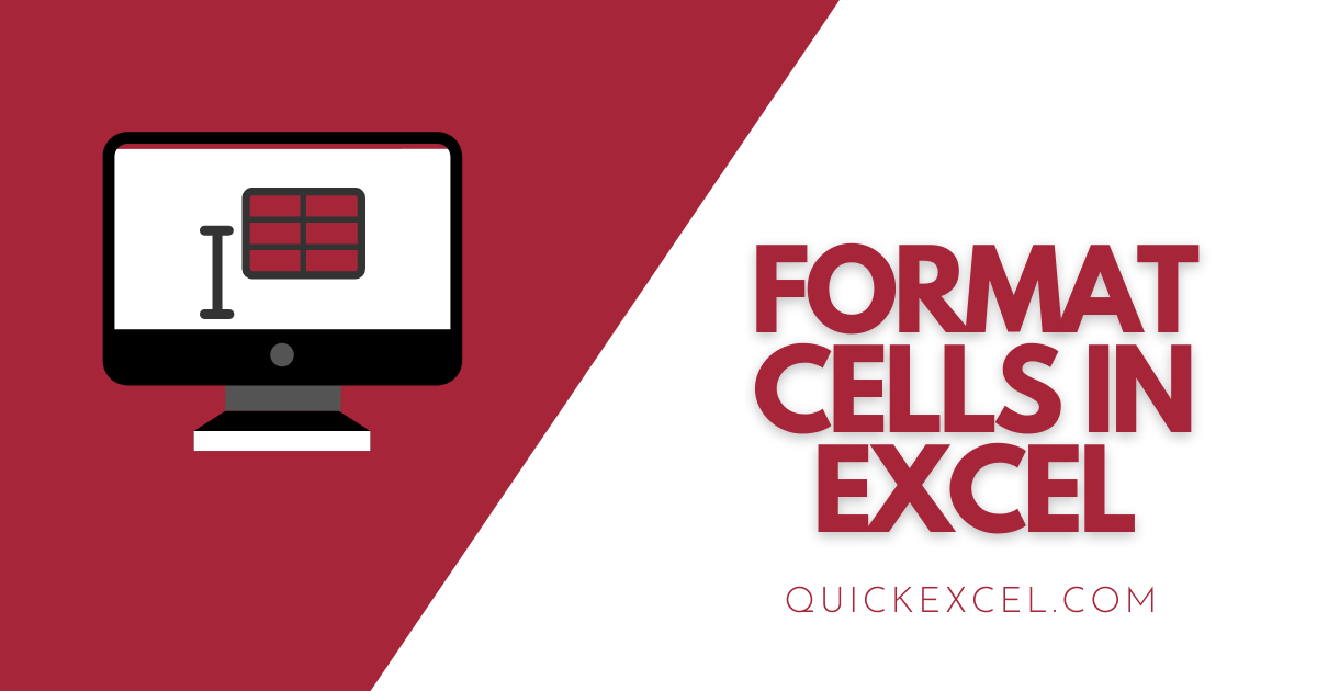 Simple Wasy to Format Cells in