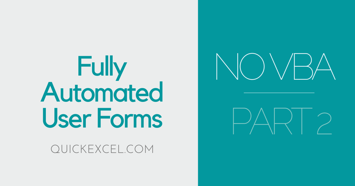 USER FORMS PART 2