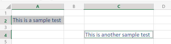 Auto Fit Final cell size in Excel