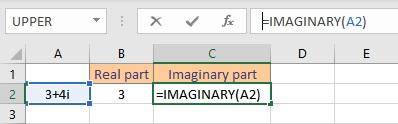 imaginary formula