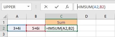 imsum formula