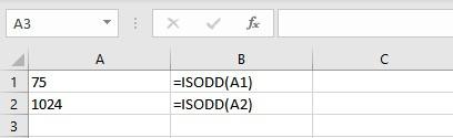 isodd formula