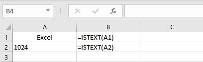 istext formula