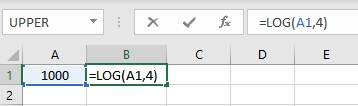 log formula 1