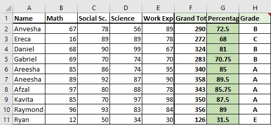 sample database 1