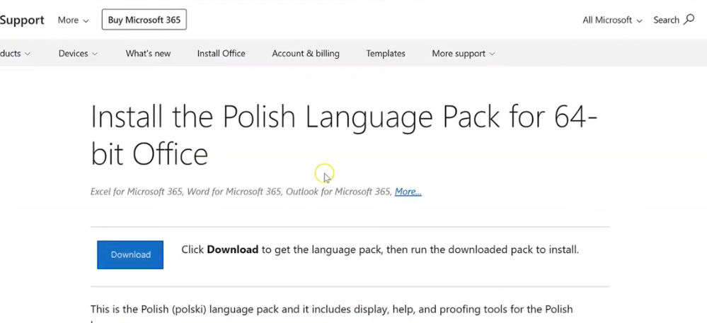 Download and Install Language Pack in Computer