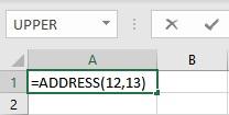address formula 1