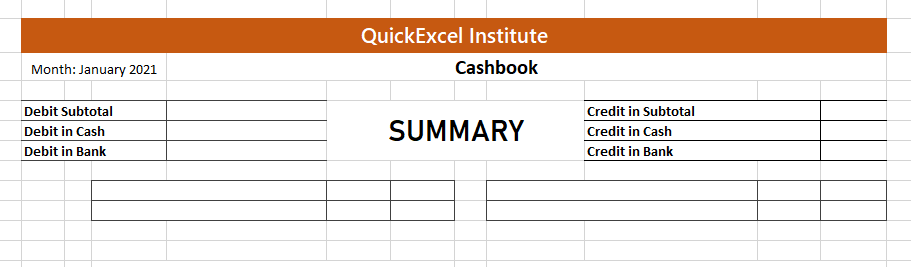 Fully Automated Cashbook in Excel [PART 2]
