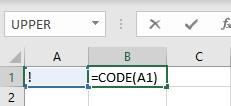 code formula