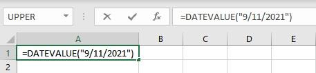 datevalue formula
