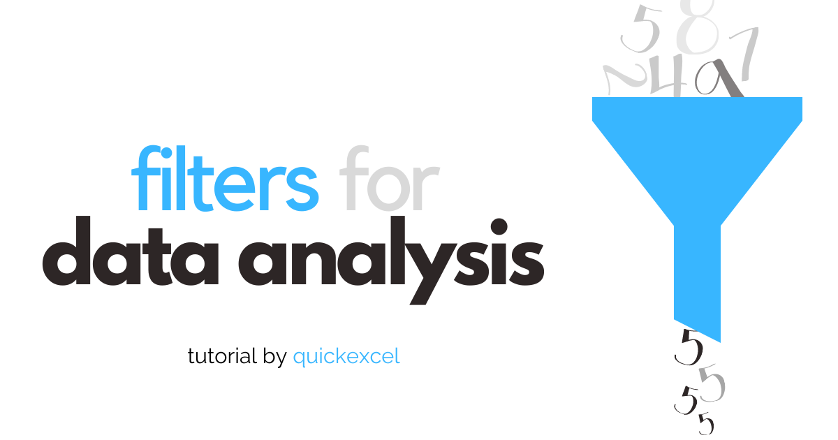filters for data analysis