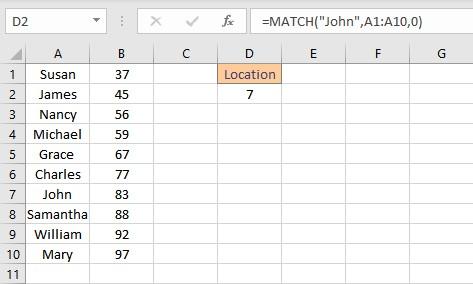 match result