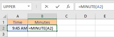 minute formula