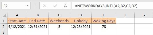 networkdaysintl result