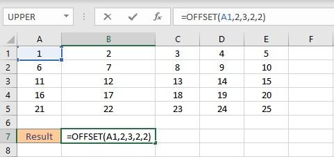 offset formula