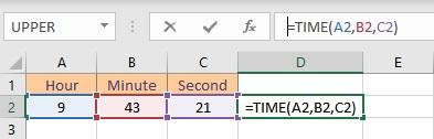 time formula