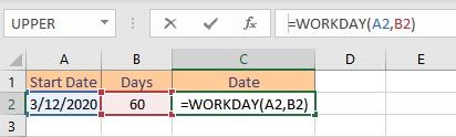workday formula